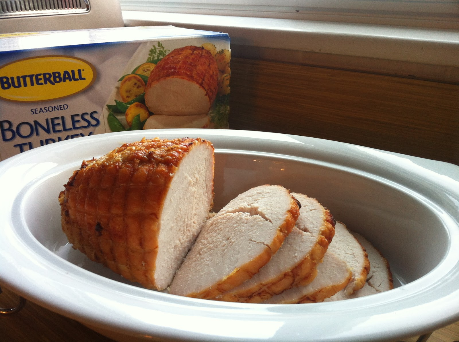 Information boneless turkey for 8 adults