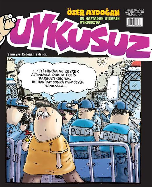 Uykusuz Dergisi - 19 Mayıs 2016 Kapak Karikatürü