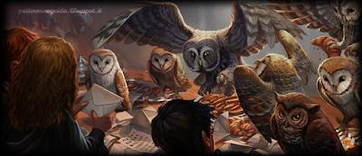 Harry Potter e il Calice di Fuoco: Lettere anonime