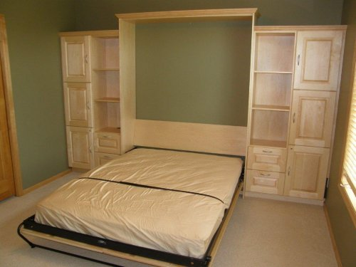 closets for life murphy beds not just for jokes anymore. Black Bedroom Furniture Sets. Home Design Ideas