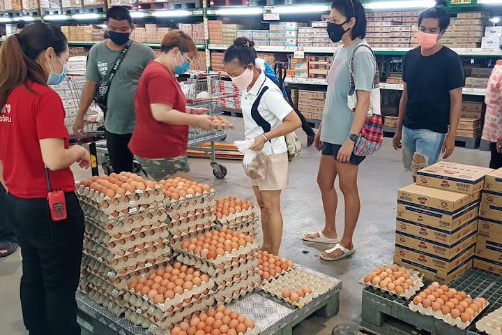 Таиланд запретил экспорт куриных яиц сроком на 7 дней