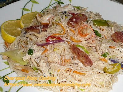 Quick Stirfried Bihon Dish