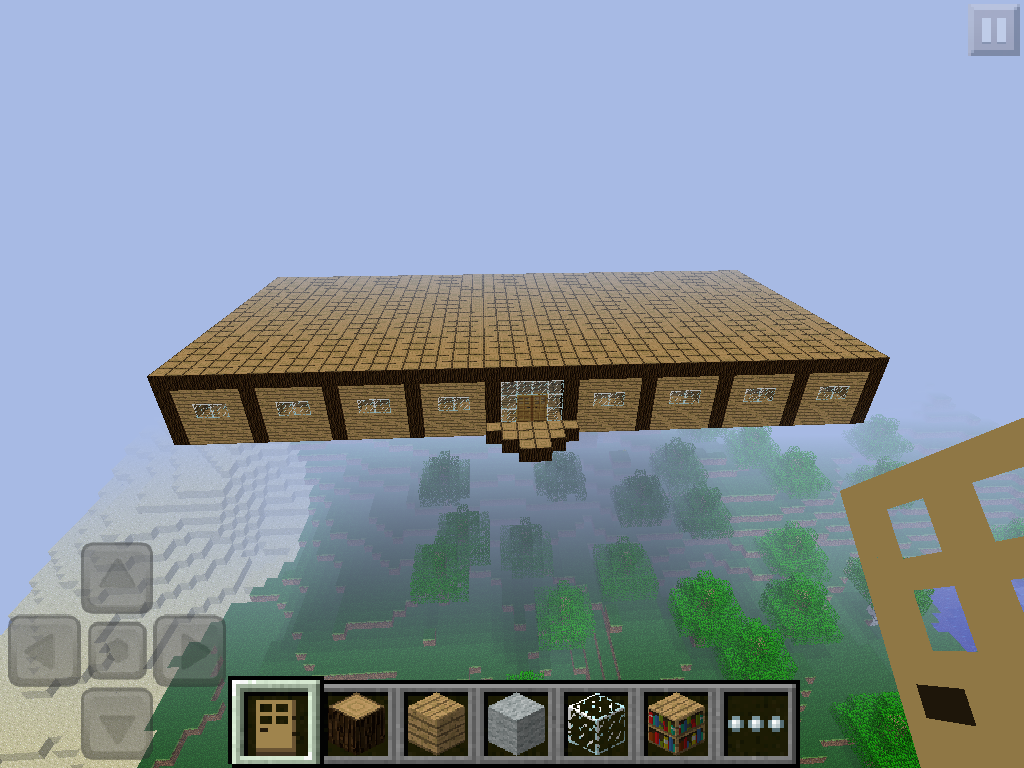 Minecraft: My Floating House