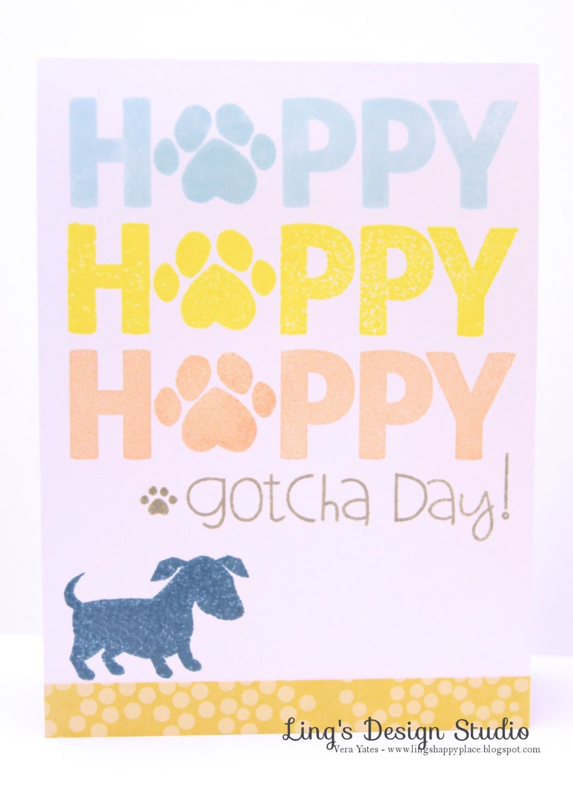 Happy Adoption Day Dog