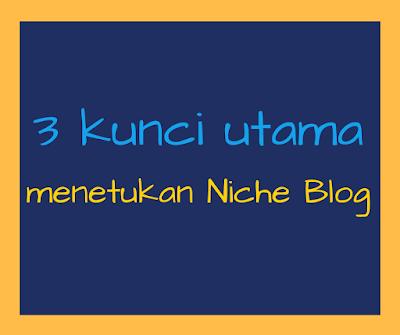 menentukan dan memilih niche blog yang tepat dan sesuai