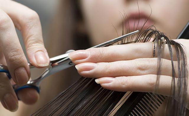 corte o cabelo