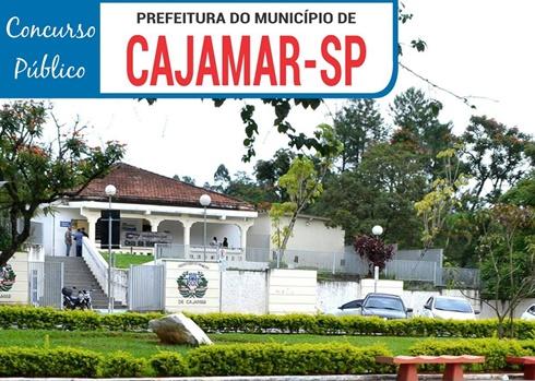 concurso da Prefeitura de Cajamar [SP]