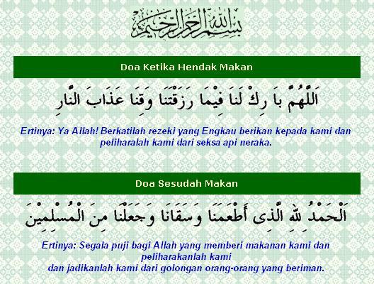 Cara makan ikut sunnah Rasullullah SAW.
