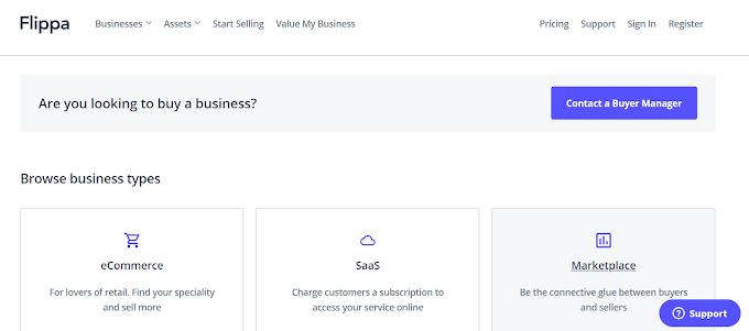 Cara Mendapatkan Uang Dari Jual Web di Situs Flippa.com