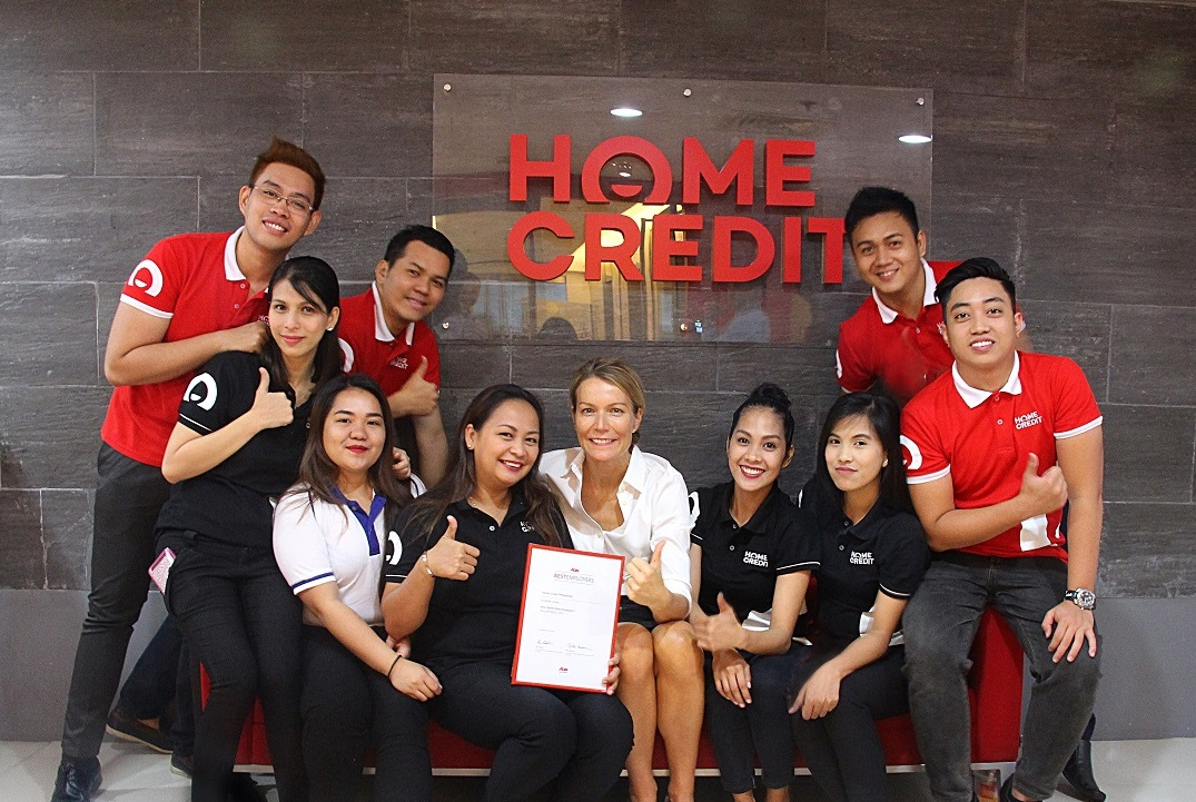 Home Credit named Employer of the Year in PH, APAC