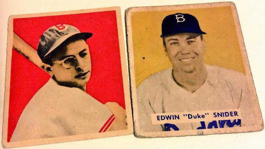 Number 5 Type Collection 1949 Bowman Baseball Wantlist