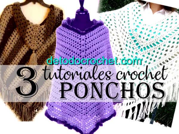 como-tejer-poncho-crochet