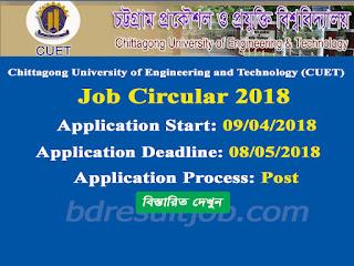 CUET Job Circular 2018