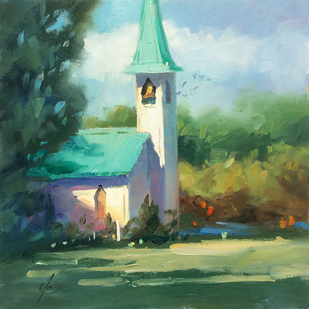 RURAL COUNTRY CHURCH By TOM BROWN