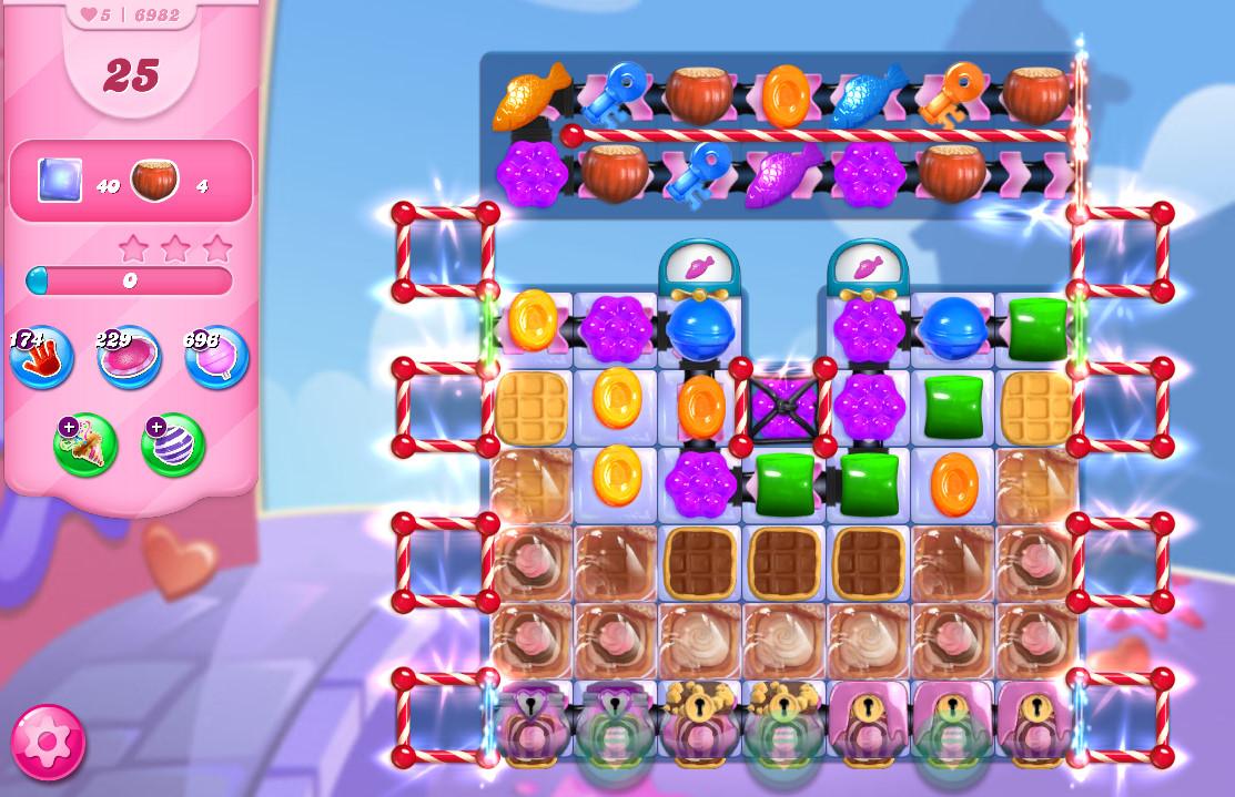 Candy Crush Saga level 6982