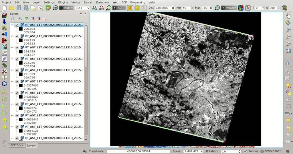 From GIS to Remote Sensing: Estimation of Land Surface