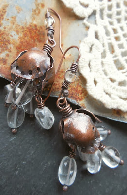 Earrings by Keirsten Giles Lune Artisan Jewelry