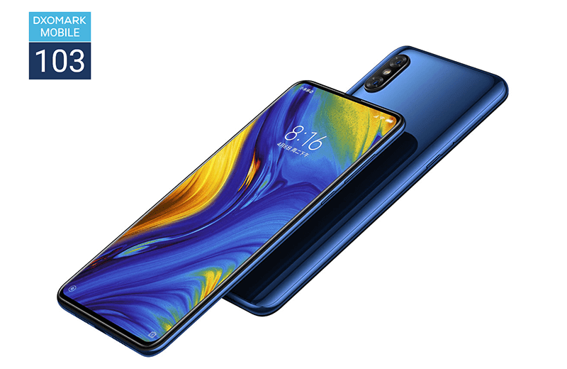 Xiaomi Mi MIX 3 scored a whopping 103 points at DxoMark