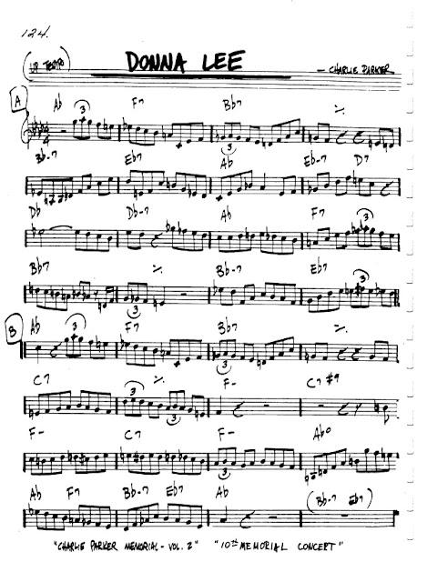 Partitura Flauta Charlie Parker
