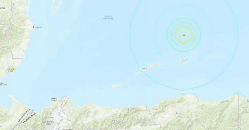 TERREMOTO en Honduras de Magnitud 5.7 y Alerta de Tsunami (Hoy Lunes 10 Agosto 2020) Sismo Temblor Epicentro Savannah - USGS