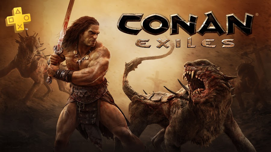 conan exiles game ps4 plus funcom