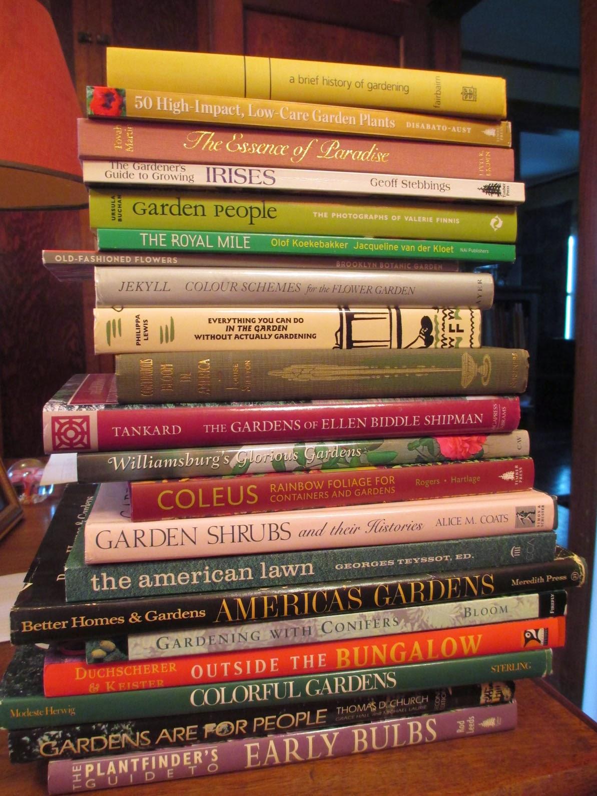 Garden Fancy: Booksale Fever! New & Old Garden Books for ...