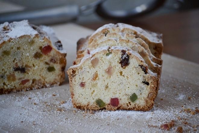 Plum Cake de frutas