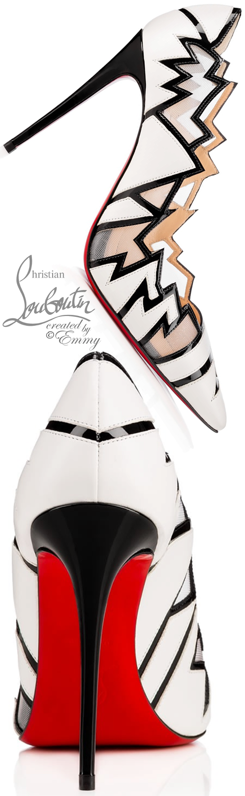 Brilliant Luxury ♦ Christian Louboutin Explorete Pumps