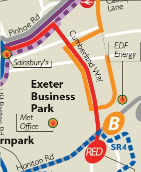 "Honiton Road Park And Ride >> Public Transport Experience: To ""B"" Or Not To ""B"" in Exeter"