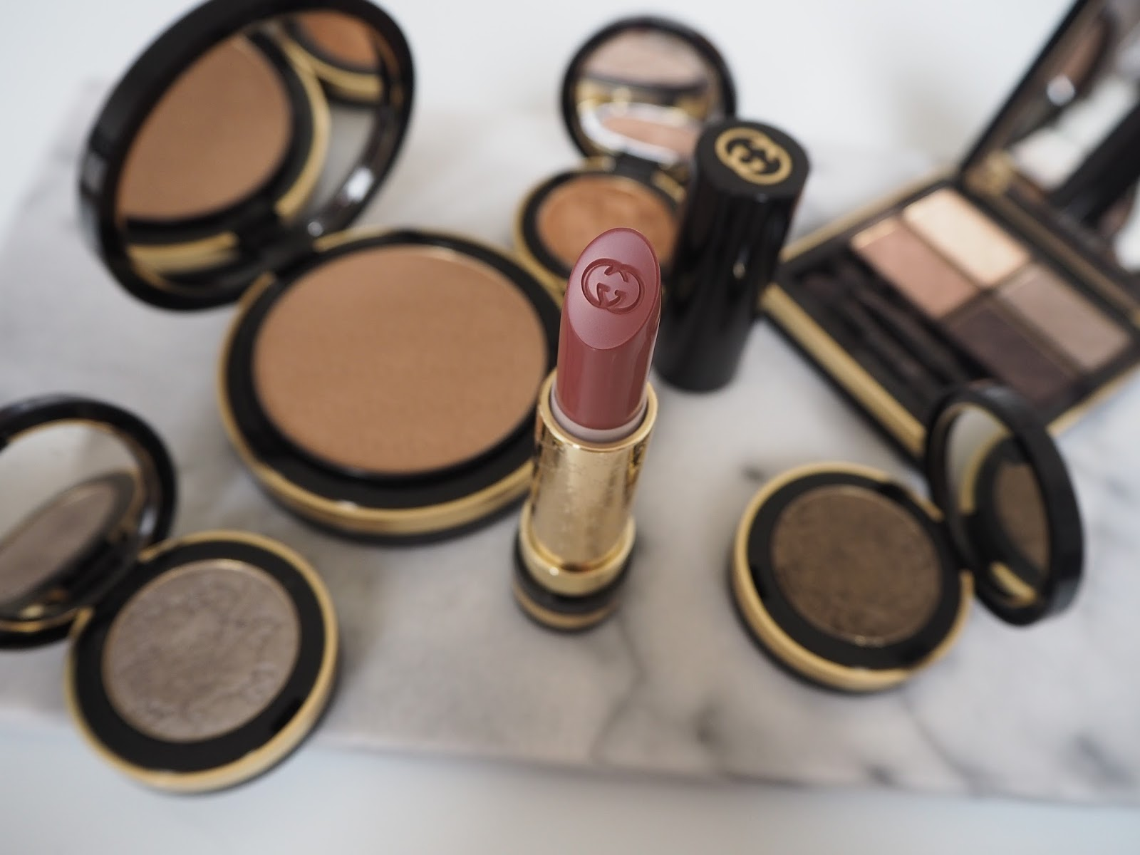 The review: Gucci Luxurious Lipstick in 340 Nude Satin