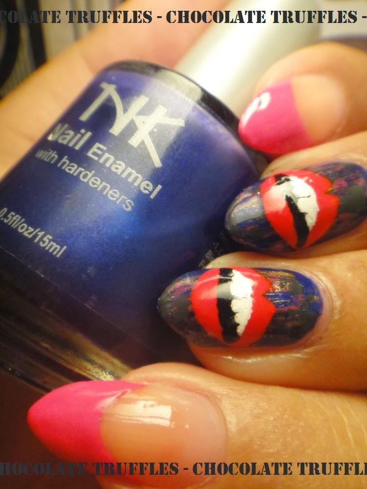 Fashion Nails Spa Mentor Home: Chocolate Truffle Nails: Fashion-Distressed Nails