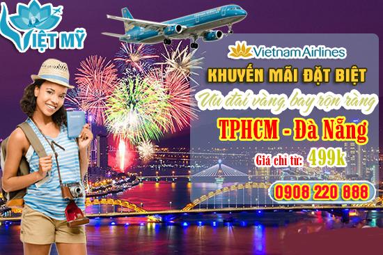 Ưu đãi vàng bay rộn ràng cùng Vietnam Airline đi Đà Nẵng chỉ từ 499K