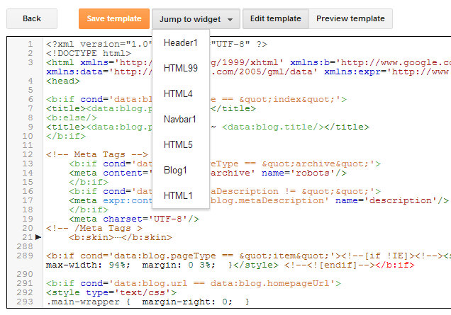 How to Use New Blogger HTML Editor | Haak Blog