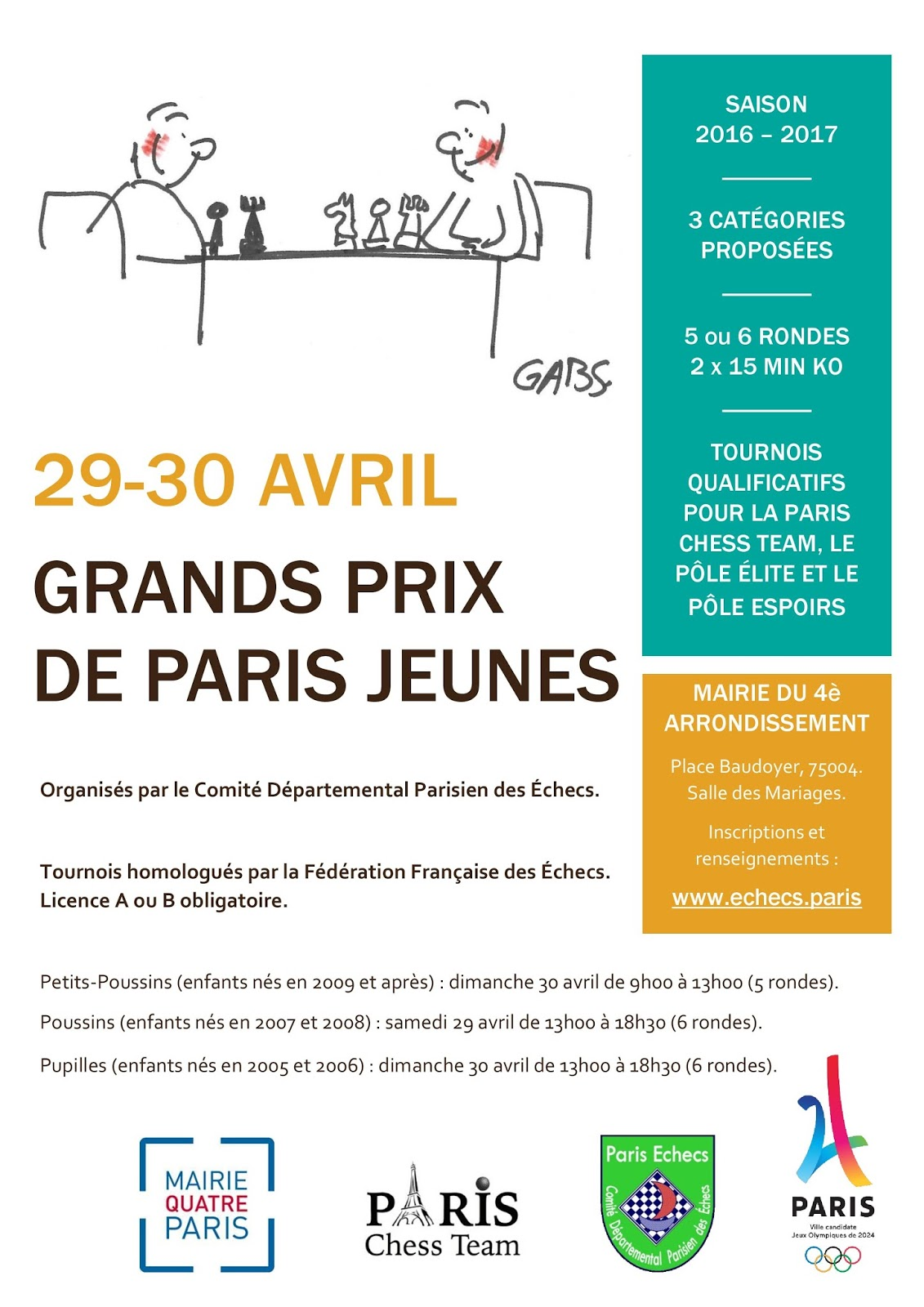canal saint martin echecs les grands prix jeunes de paris. Black Bedroom Furniture Sets. Home Design Ideas