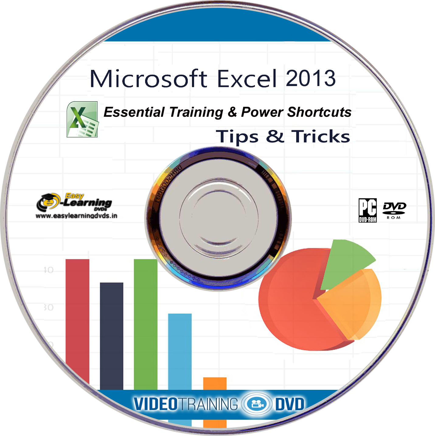 Easy Learning Dvds Learn Excel And Excel Power