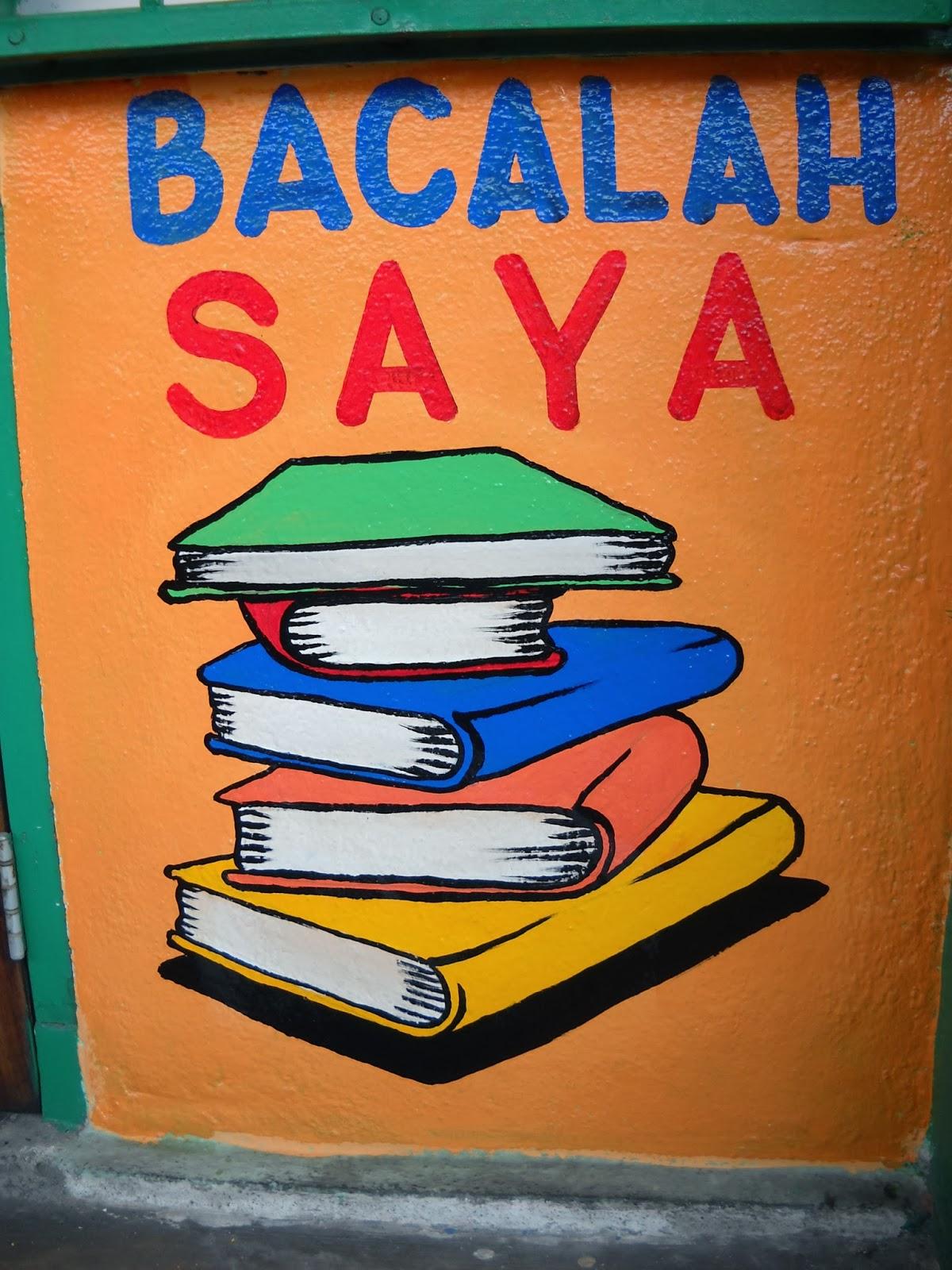 Pelukis Mural Shah Alam Mural Pusat Sumber Sekolah