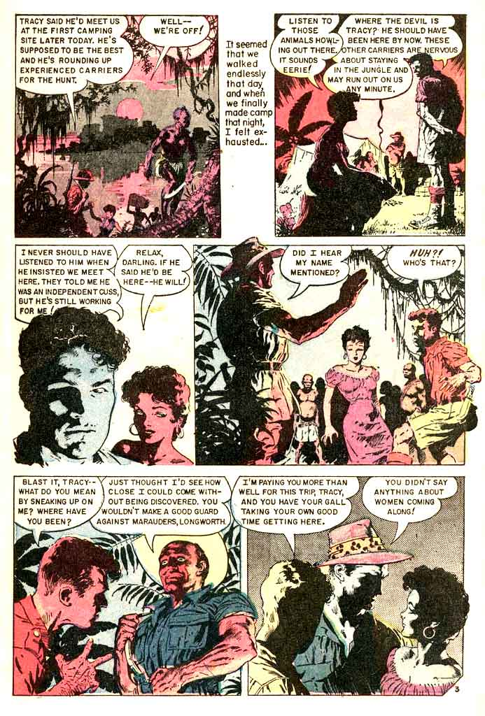 Personal Love v1 #32 golden age romance comic book page art by Frank Frazetta