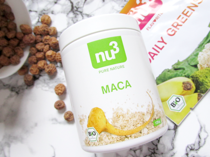 nu3 Insider Box März Happy & Healthy: nu3 Pure Nature - Bio MACA Pulver - 125g - 13.99 Euro