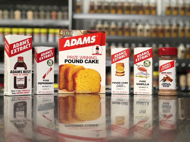 Adams extract products