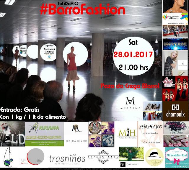 NdeP: #BarroFashion: Moda, arte y música se unen para la solidaridad