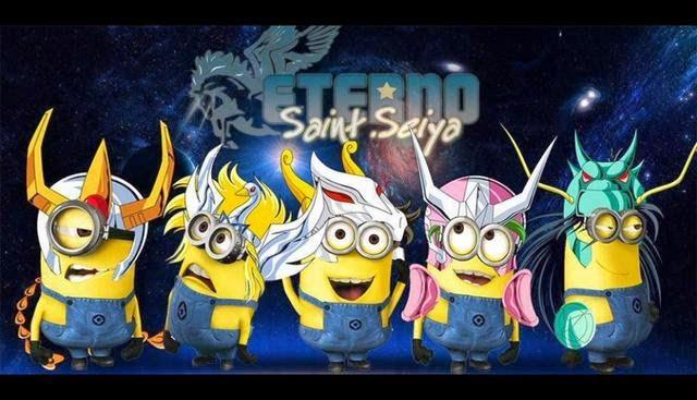 Minion Caballeros del Zodiaco