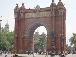 Arc+deTriomphe+barcelona