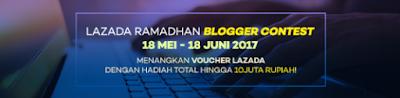 Lazada Ramadhan Blogger Contest 2017 - Berburu Keyboard dan Mouse Gaming!