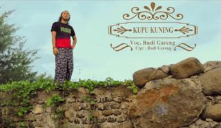 Lirik Lagu Kupu Kuning - Ki Rudi Gareng