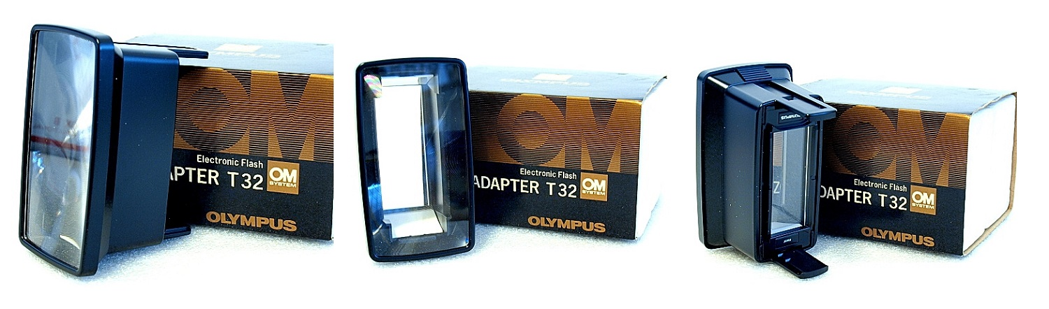 Olympus OM T32 Electronic Flash Zoom Adapter #002