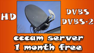 سيرفر سيسكام لمدة شهر cccam server 1 month free مجانا للرسيفر HD
