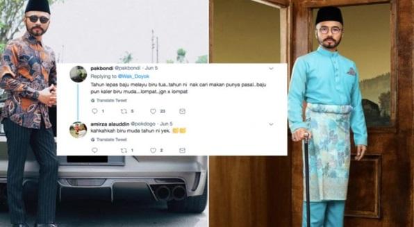 'Design Lalang Makcik Ko'- Wak Doyok Berang Bila Baju Melayu Digelar 'Lompat Parti'.. Marah Betul!