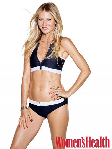 Gwyneth Paltrow Women's Health USA Magazine photos