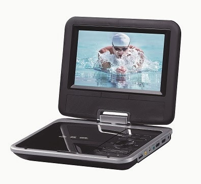 review aldi portable dvd player the test pit. Black Bedroom Furniture Sets. Home Design Ideas