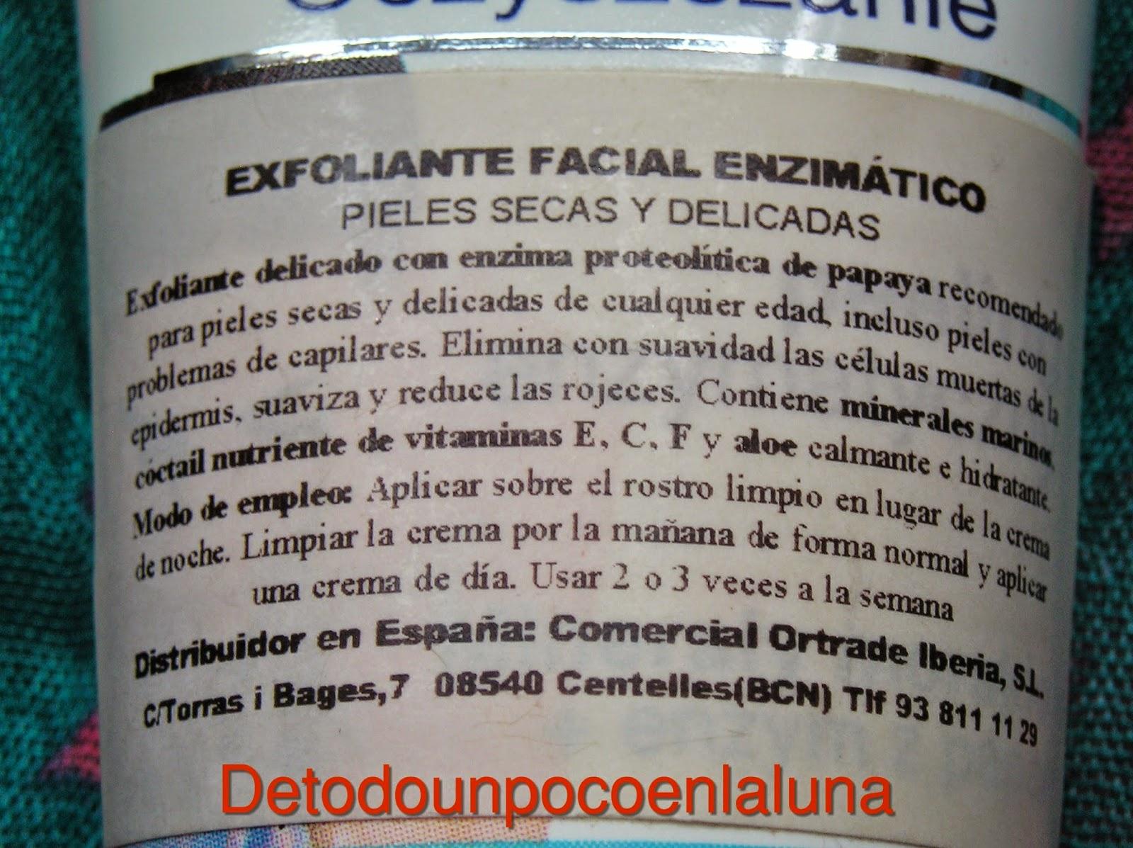 exfoliante enzimático dax perfecta